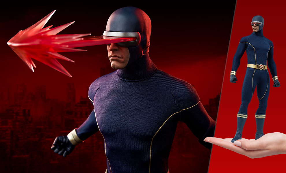 Gallery Feature Image of Cyclops (Astonishing Version) Sixth Scale Figure - Click to open image gallery