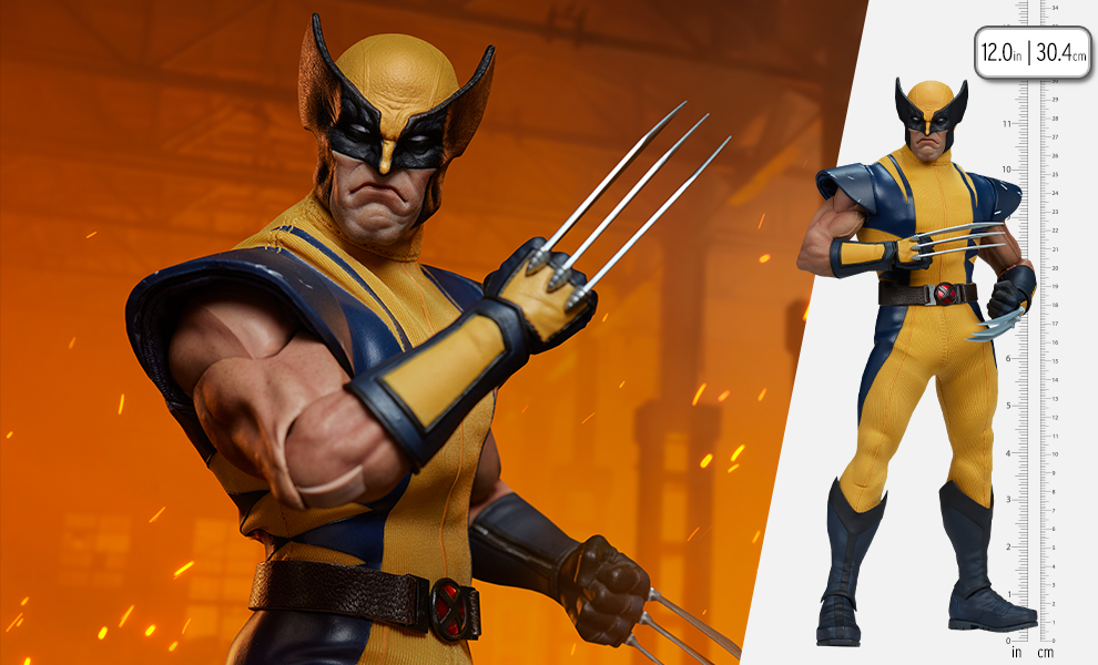 Gallery Feature Image of Wolverine (Astonishing Version) Sixth Scale Figure - Click to open image gallery