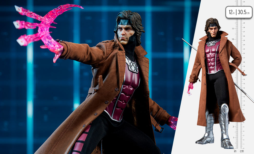 Gallery Feature Image of Gambit Deluxe Sixth Scale Figure - Click to open image gallery