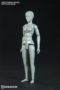 Gallery Image of Artist Model Female Sixth Scale Figure