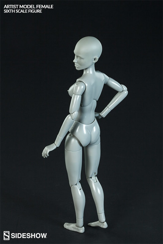 Artist Model Female Sixth Scale Figure by Sideshow Collecti