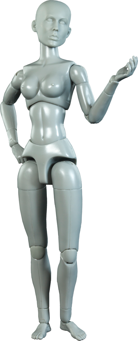 Sideshow Collectibles Artist Model Female Sixth Scale Figure