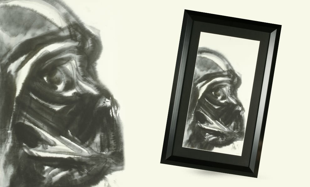 Gallery Feature Image of Darth Vader' Limited Edition Giclee Print Fine Art Print - Click to open image gallery