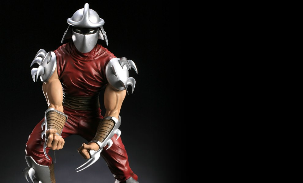 Gallery Feature Image of Shredder Polystone Statue - Click to open image gallery