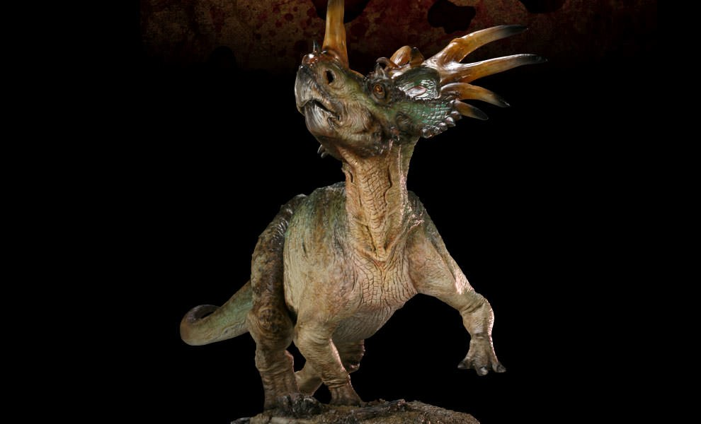 Gallery Feature Image of Styracosaurus Maquette - Click to open image gallery