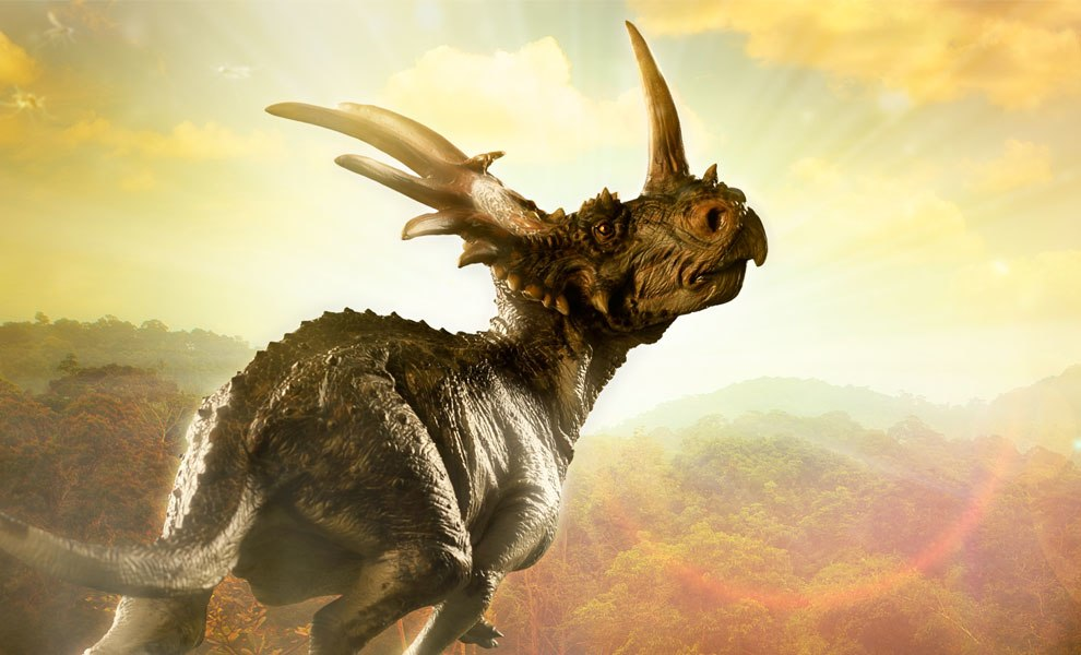 Gallery Feature Image of Styracosaurus Statue - Click to open image gallery