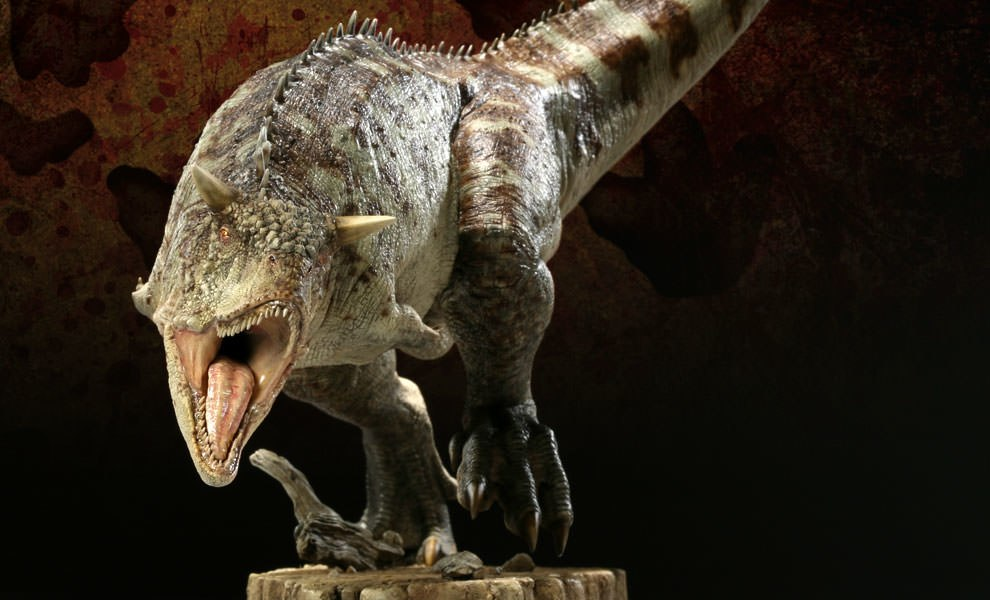 Gallery Feature Image of Carnotaurus Maquette - Click to open image gallery