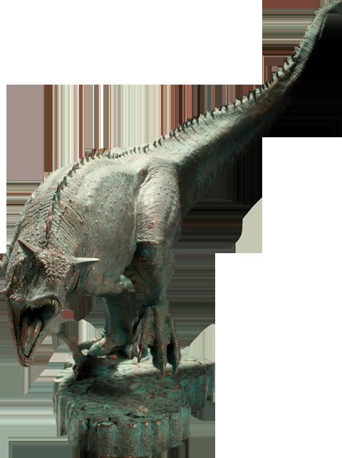 Sideshow Collectibles Carnotaurus Polystone Diorama