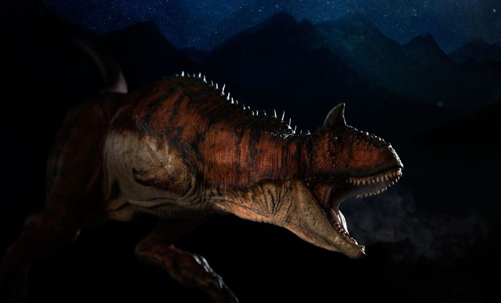 Gallery Feature Image of Carnotaurus Statue - Click to open image gallery