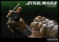 Gallery Image of There will be no Bargain - Luke VS Rancor Polystone Diorama