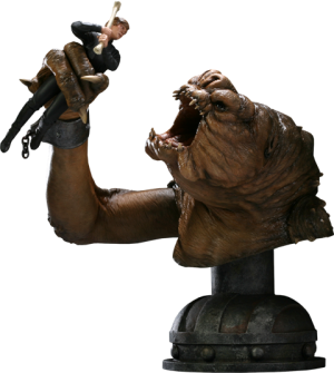 There will be no Bargain - Luke VS Rancor Polystone Diorama