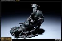 Gallery Image of Deinosuchus VS Parasaurolophus Polystone Diorama