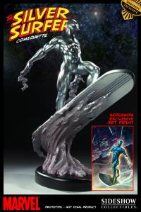 Gallery Image of Silver Surfer Polystone Statue