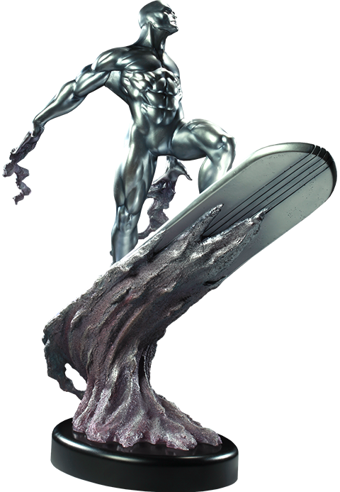 Sideshow Collectibles Silver Surfer Polystone Statue