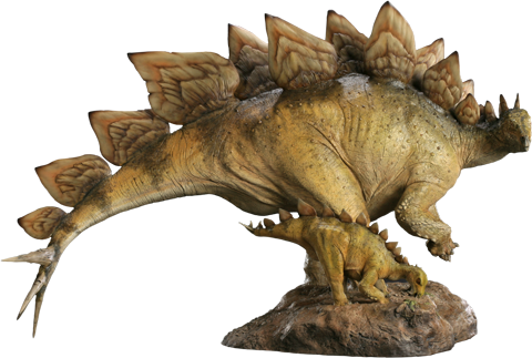 Sideshow Collectibles Stegosaurus Maquette