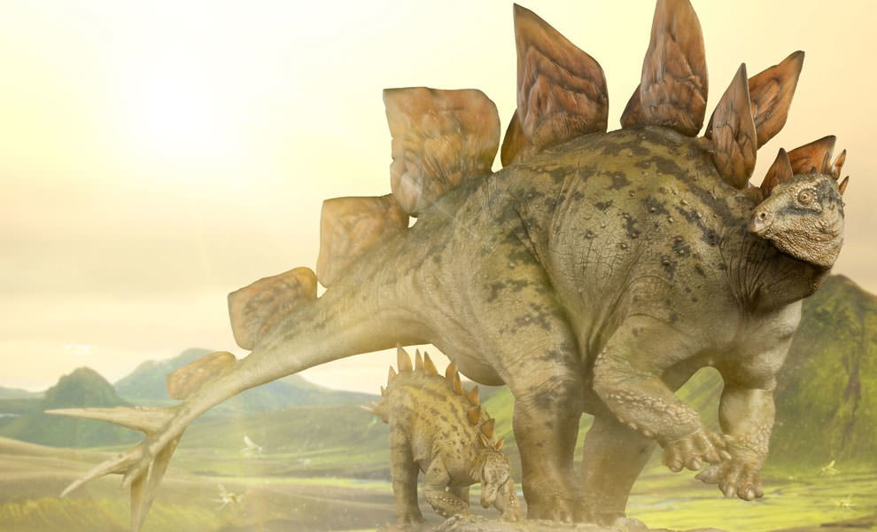 Gallery Feature Image of Stegosaurus Statue - Click to open image gallery