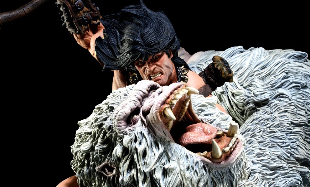 Gallery Feature Image of Conan the Barbarian: Fury of the Beast Polystone Diorama - Click to open image gallery