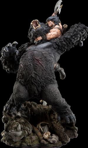 Conan the Barbarian: Fury of the Beast Polystone Diorama