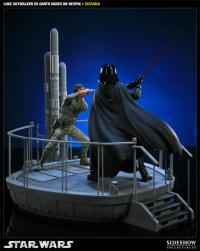 Gallery Image of I Am Your Father - Luke Skywalker VS Darth Vader on Bespin Polystone Diorama