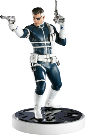 Nick Fury Polystone Statue