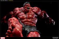 Gallery Image of Red Hulk Polystone Statue