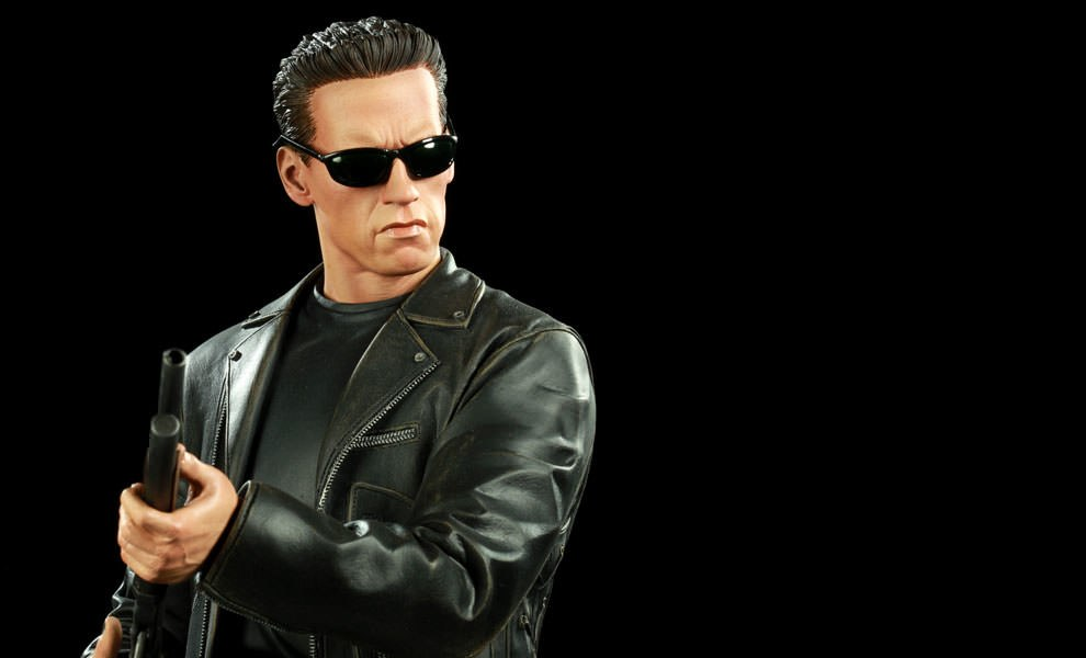 Gallery Feature Image of T-800 Polystone Statue - Click to open image gallery