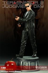 Gallery Image of T-800 Polystone Statue