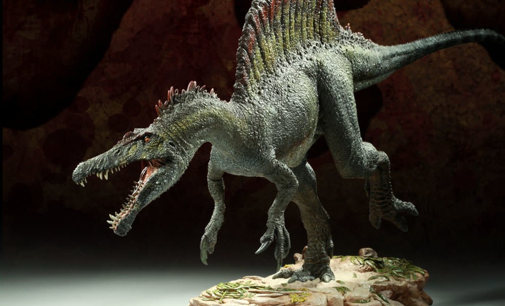 Gallery Feature Image of Spinosaurus Maquette - Click to open image gallery
