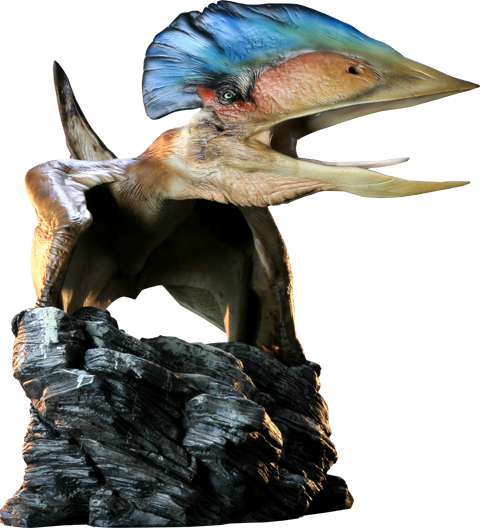 Sideshow Collectibles Tupuxuara - Pterodactyl Maquette