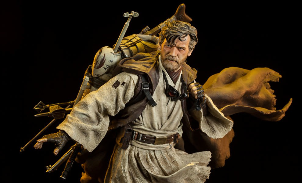 Gallery Feature Image of Ben Kenobi - Mythos Polystone Statue - Click to open image gallery