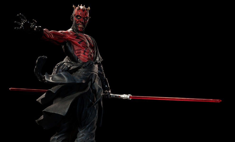Gallery Feature Image of Darth Maul - Mythos Polystone Statue - Click to open image gallery