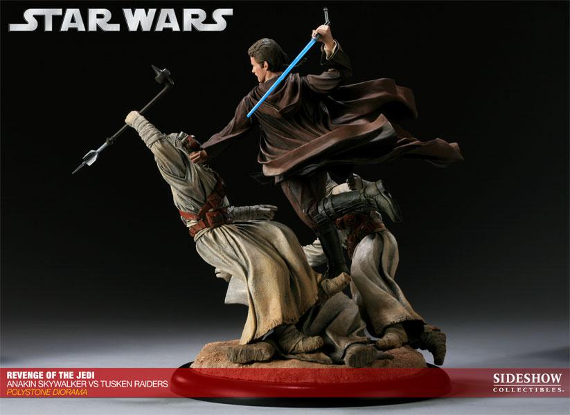 Star Wars Revenge Of The Jedi Anakin Skywalker Vs Tusken Raiders