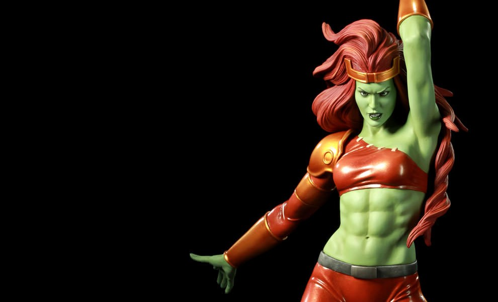 Gallery Feature Image of Women of Marvel: Savage She-Hulk Polystone Statue - Click to open image gallery