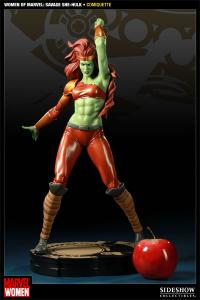Gallery Image of Women of Marvel: Savage She-Hulk Polystone Statue