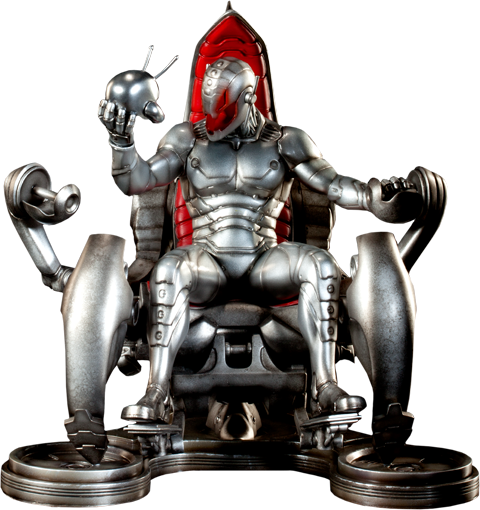 Sideshow Collectibles Classic Ultron on Throne Polystone Statue