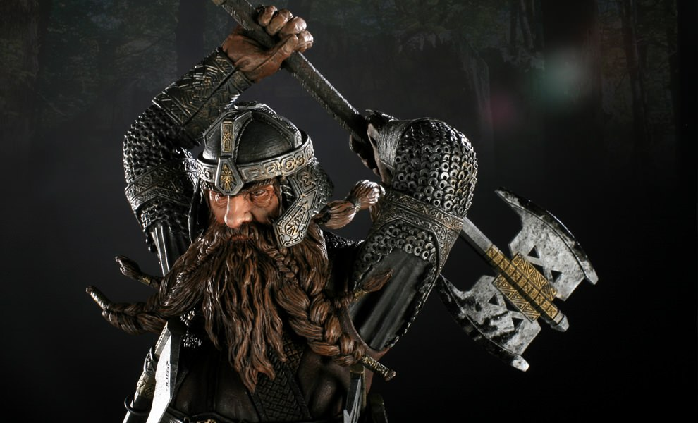 Gallery Feature Image of Gimli Polystone Statue - Click to open image gallery
