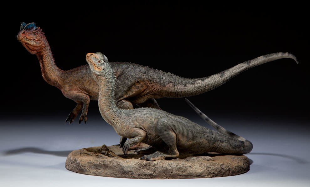 Gallery Feature Image of Dilophosaurus Maquette - Click to open image gallery