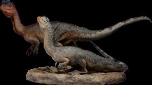 Dilophosaurus Maquette