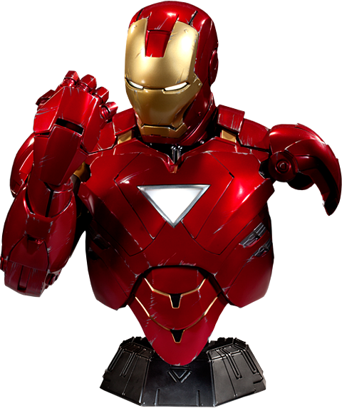 Sideshow Collectibles Iron Man - Mark VI Legendary Scale Bust