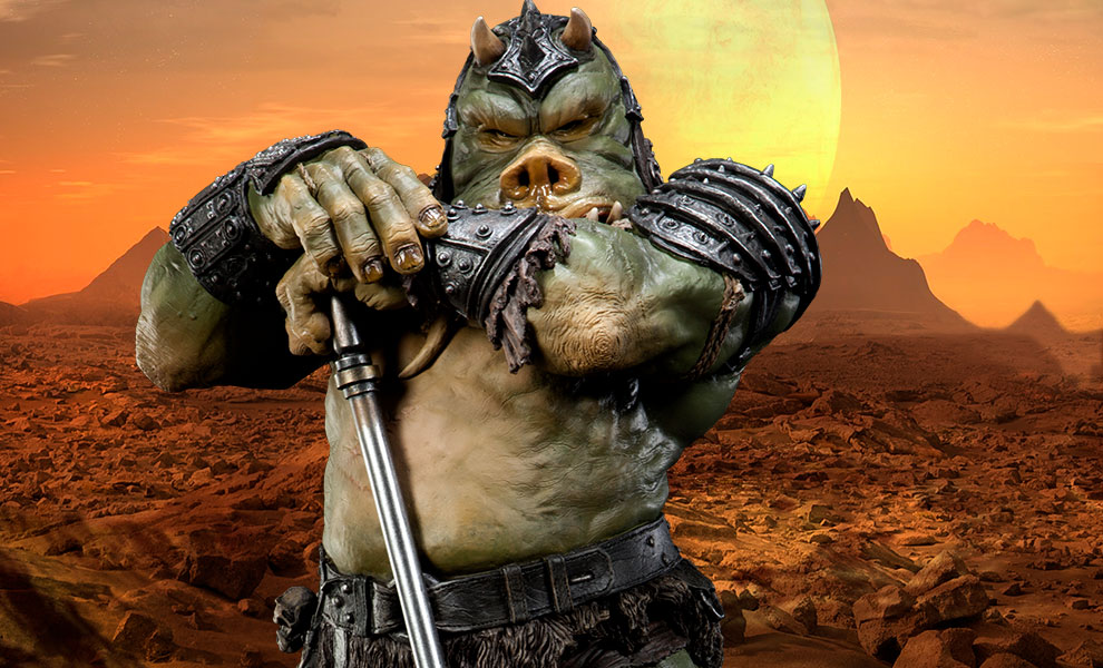 Gallery Feature Image of Gamorrean Executioner - Mythos Polystone Statue - Click to open image gallery