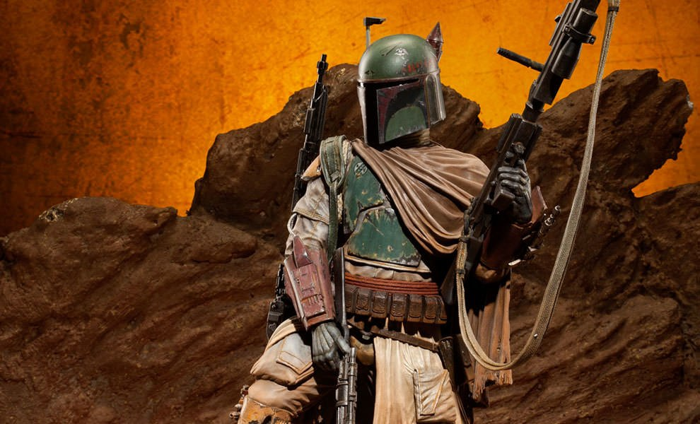 Gallery Feature Image of Boba Fett - Mythos Polystone Statue - Click to open image gallery