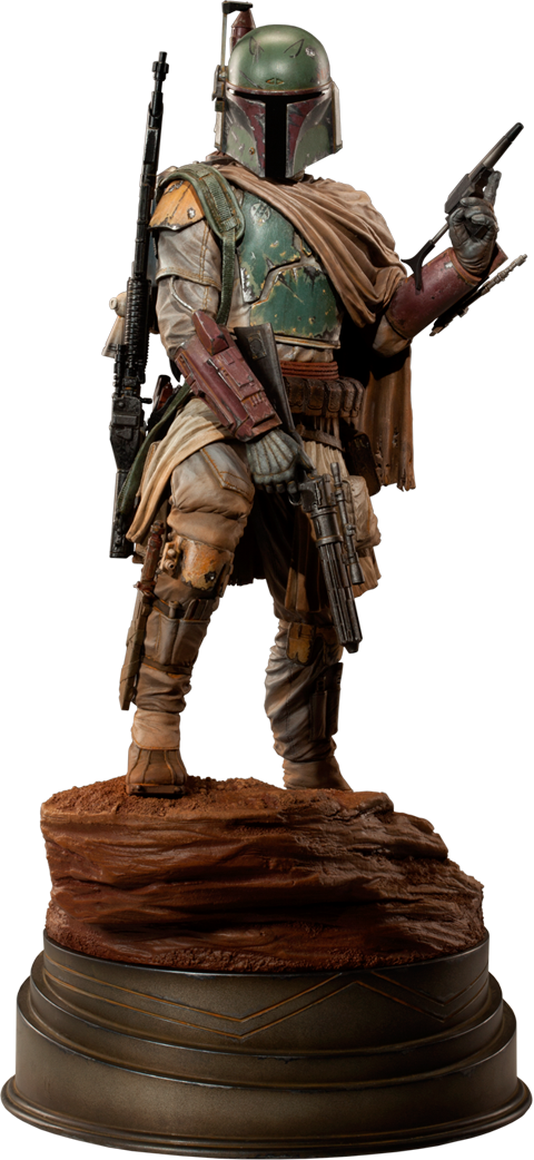 Sideshow Collectibles Boba Fett - Mythos Polystone Statue