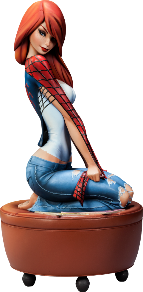 Sideshow Collectibles Mary Jane Polystone Statue