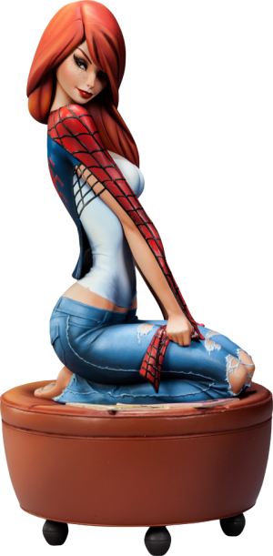 Mary Jane Polystone Statue