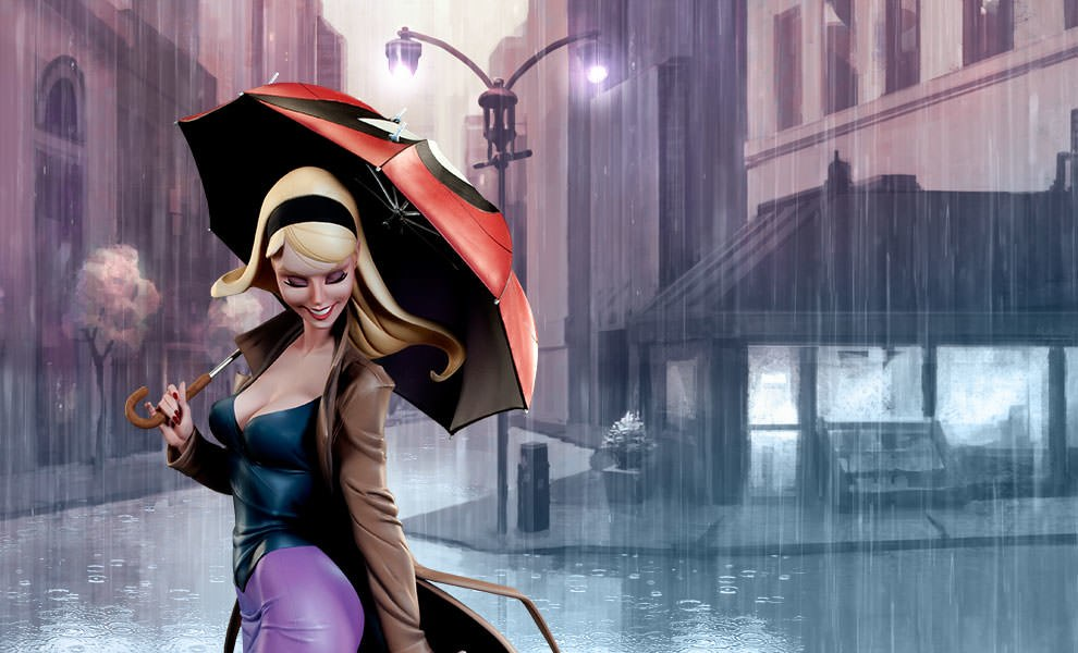Gallery Feature Image of Gwen Stacy Polystone Statue - Click to open image gallery