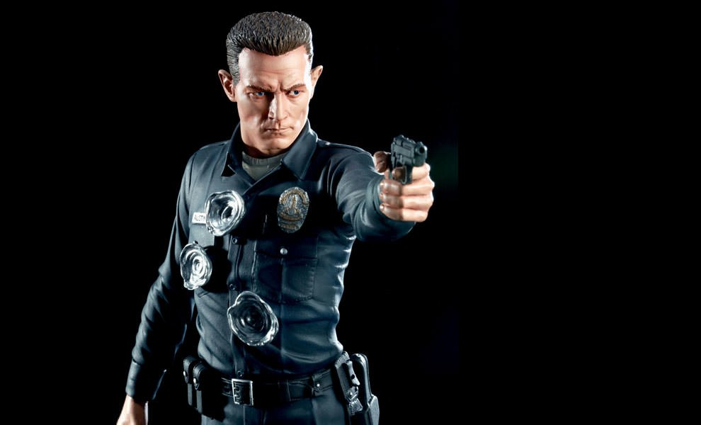 Gallery Feature Image of T-1000 Polystone Statue - Click to open image gallery