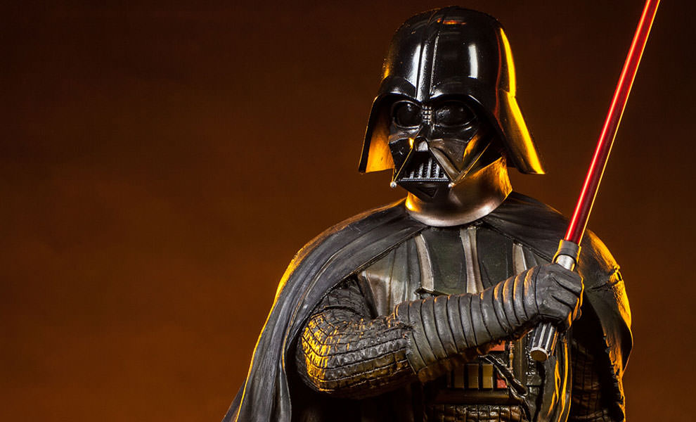 Gallery Feature Image of Darth Vader - Mythos Polystone Statue - Click to open image gallery