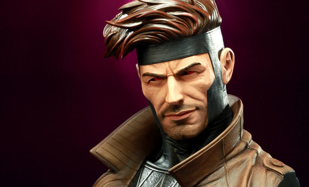 Gallery Feature Image of Gambit Legendary Scale™ Bust - Click to open image gallery