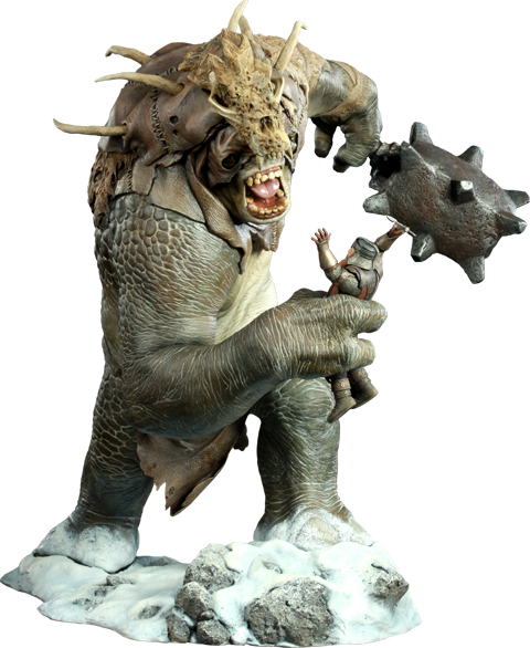 Sideshow Collectibles Snow Troll Polystone Statue
