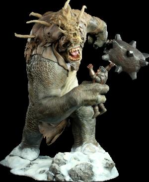 Snow Troll Polystone Statue